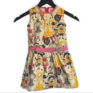 Misha LuLu Circus Dress Sz 2